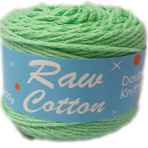 RAW COTTON D.K DYED 100g-COL.075 MINT 7