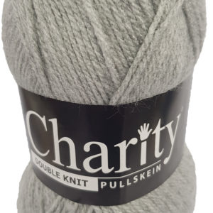 CHARITY PULLSKEIN DOUBLE KNIT-COL.011 SILVER GREY 12