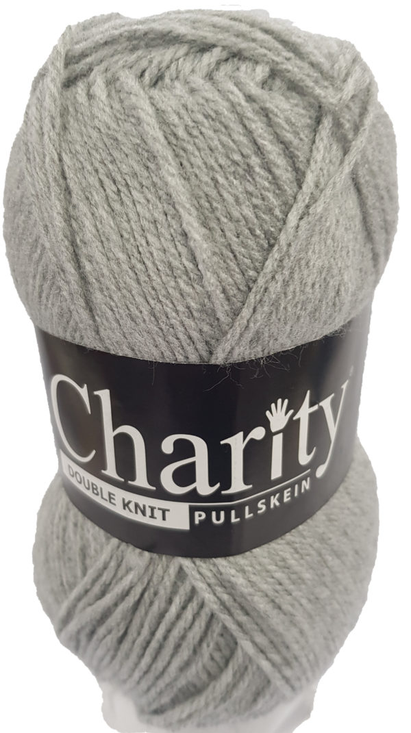 CHARITY PULLSKEIN DOUBLE KNIT-COL.011 SILVER GREY 1