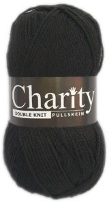 CHARITY PULLSKEIN DOUBLE KNIT-COL.017 BLACK 4