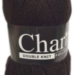 CHARITY PULLSKEIN DOUBLE KNIT-COL.194 COGNAC 2