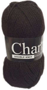 CHARITY PULLSKEIN DOUBLE KNIT-COL.044 PEAT 4