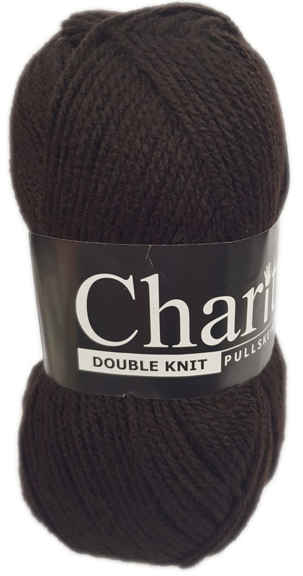 CHARITY PULLSKEIN DOUBLE KNIT-COL.044 PEAT 1