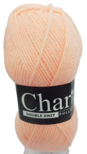 CHARITY PULLSKEIN DOUBLE KNIT-COL.046 APRICOT 4