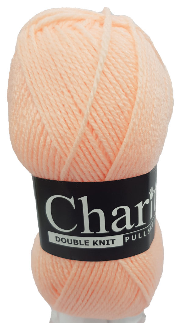 CHARITY PULLSKEIN DOUBLE KNIT-COL.046 APRICOT 1