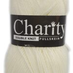 CHARITY PULLSKEIN DOUBLE KNIT-COL.002 LEMON 2