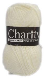CHARITY PULLSKEIN DOUBLE KNIT-COL.105 PORCELAIN 4