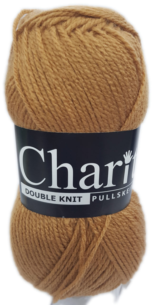CHARITY PULLSKEIN DOUBLE KNIT-COL.145 CAMEL 1