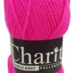 CHARITY PULLSKEIN DOUBLE KNIT-COL.073 CHARCOAL 2