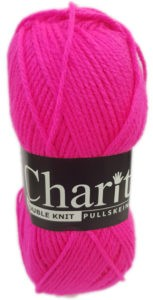 CHARITY PULLSKEIN DOUBLE KNIT-COL.146 TIGER CERISE 4