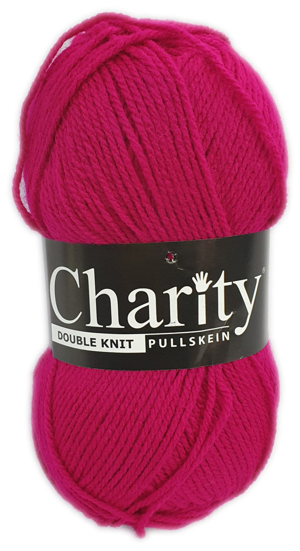 CHARITY PULLSKEIN DOUBLE KNIT-COL.283 CRANBERRY 1