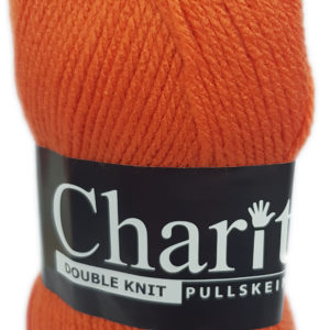 CHARITY PULLSKEIN DOUBLE KNIT-COL.098 CITRUS 13