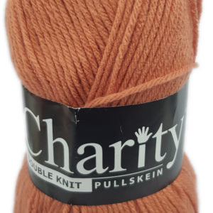 CHARITY PULLSKEIN DOUBLE KNIT-COL.CORAL ROSE 11