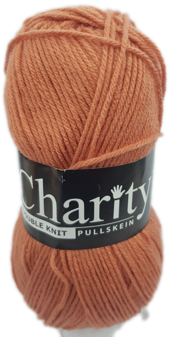 CHARITY PULLSKEIN DOUBLE KNIT-COL.CORAL ROSE 1