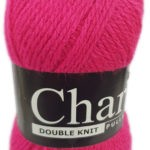 CHARITY PULLSKEIN DOUBLE KNIT-COL.017 BLACK 2