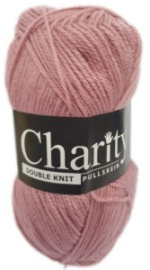 CHARITY PULLSKEIN DOUBLE KNIT-COL.053 PALE ROSE 4