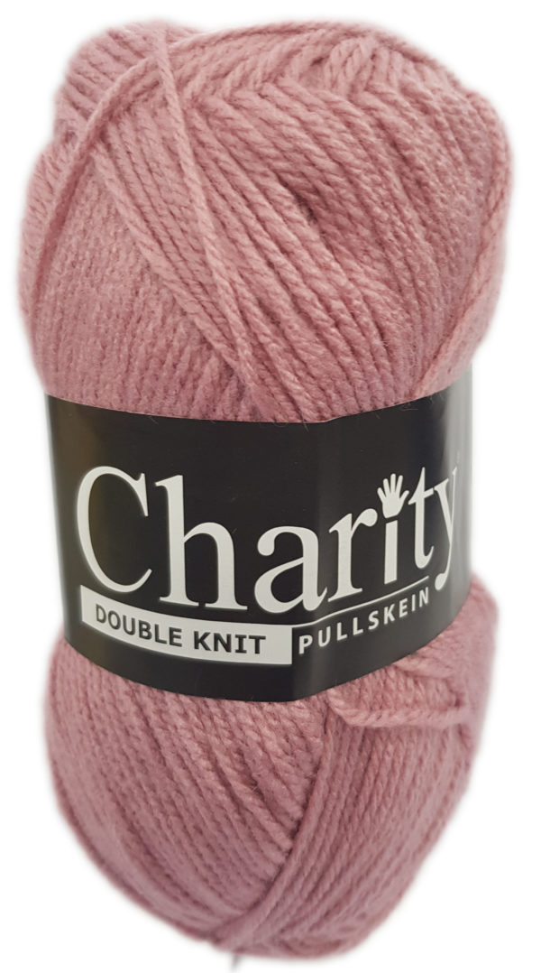 CHARITY PULLSKEIN DOUBLE KNIT-COL.053 PALE ROSE 1