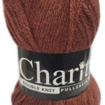 CHARITY PULLSKEIN DOUBLE KNIT-COL.146 TIGER CERISE 2