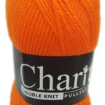 CHARITY PULLSKEIN DOUBLE KNIT-COL.002 LEMON 3