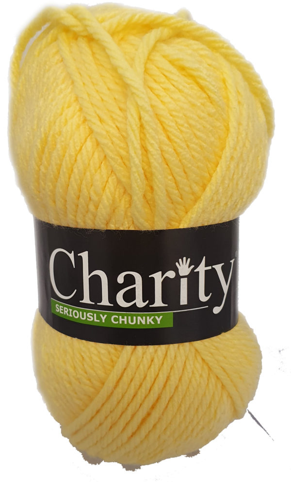CHARITY SERIOUSLY CHUNKY 150g-COL.080 BANANA 1
