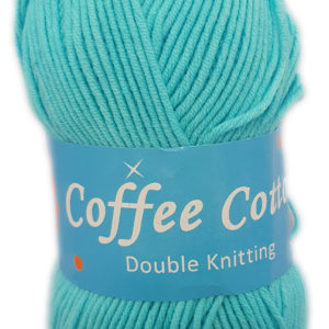 COFFEE COTTON 100g-COL.092 TURQUOISE 5