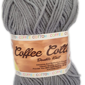 COFFEE COTTON D.K 100g-COL.SILVER GREY 7
