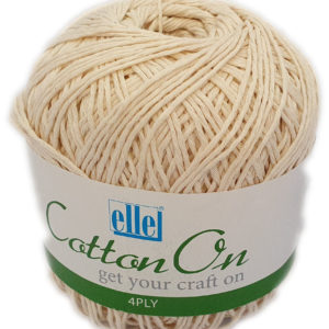 COTTON ON 4 PLY 100g-COL.014 NATURAL 5