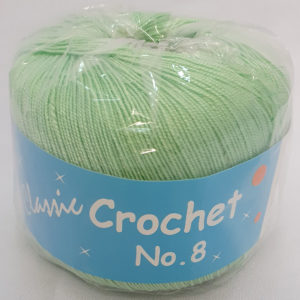 CROCHET No.8 BALL 50g-COL.75 MINT 8