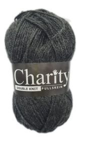 CHARITY PULLSKEIN DOUBLE KNIT-COL.073 CHARCOAL 4