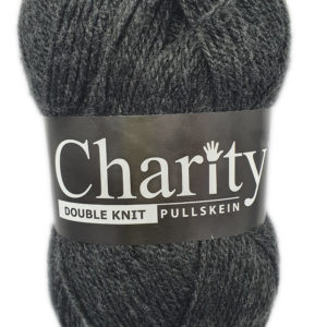 CHARITY PULLSKEIN DOUBLE KNIT-COL.073 CHARCOAL 10