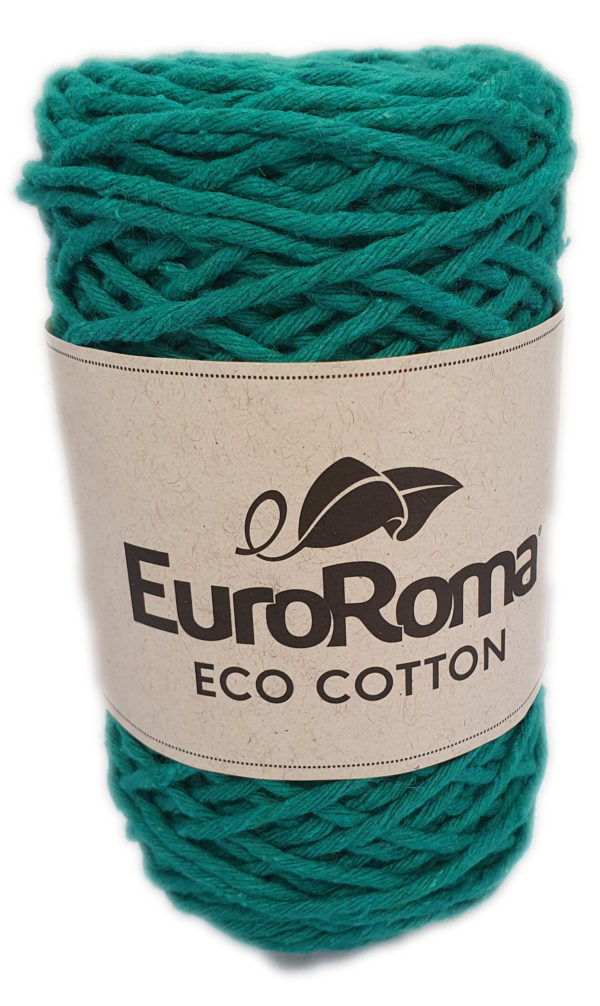 ECO-COTTON 200g-COL.810 GREEN 1