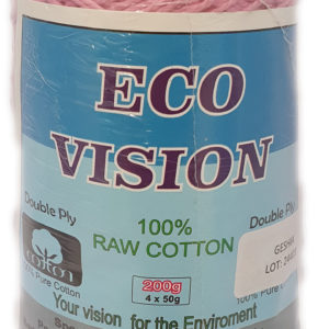 ECO-VISION RAW  COTTON DYED 200g-COL.GEISHA 10