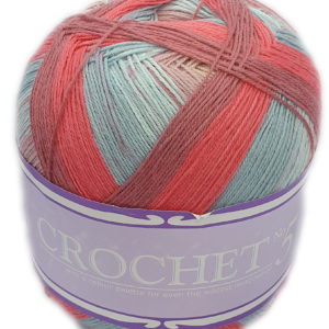 CROCHET No.5 100g-COL.707 REDSTAR 7