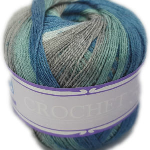 CROCHET No.5 PRINT 50g-COL.358 DUKE 8