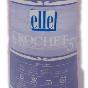 CROCHET No.5 CONES 250g-COL.101 GRAPE 14