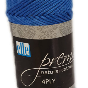 PREMIER NATURAL COTTON 4 PLY 50g-COL.008 ROYAL BLUE 14
