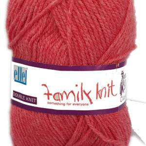 CLASSIC FAMILY KNIT D.K 50g-COL.369 FROSTED CHERRY 10