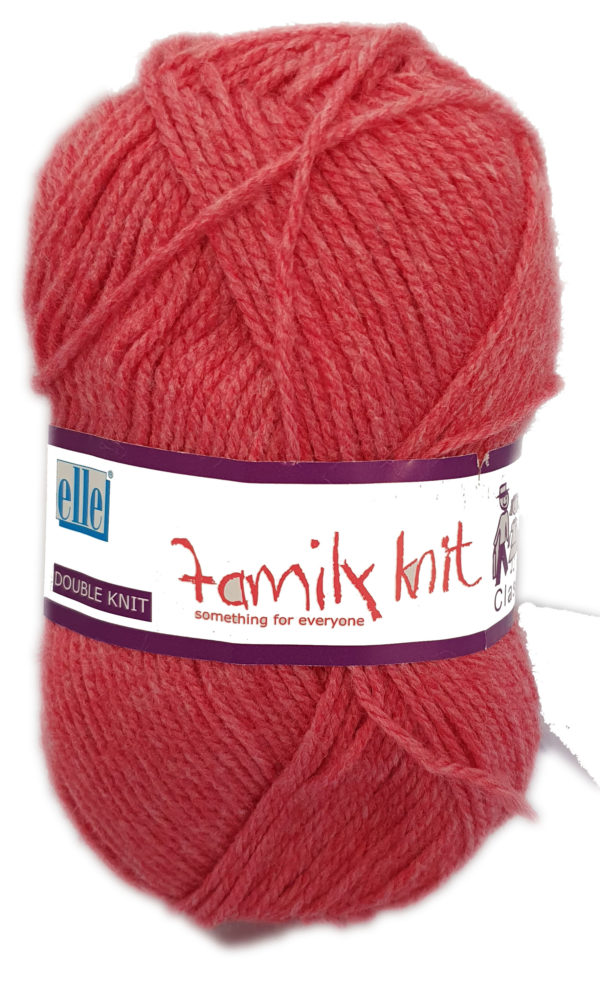 CLASSIC FAMILY KNIT D.K 50g-COL.369 FROSTED CHERRY 1