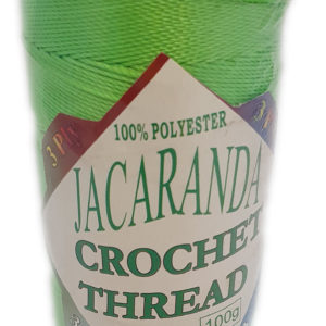 JACARANDA 3 PLY CROCHET 100g-LIME GREEN 6