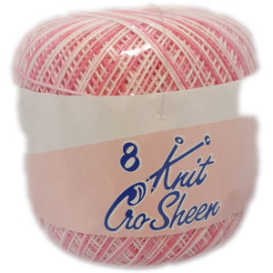 COATS KNIT CRO SHEEN No.8 50g-COL.884 7