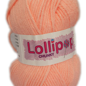 LOLLIPOP CHUNKY 100g-COL.32 PEACH 5