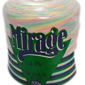 MIRAGE 4 PLY PRINT CONE 500g-COL.308 SNICKER DOODLE 11