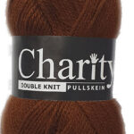 CHARITY PULLSKEIN DOUBLE KNIT-COL.017 BLACK 3