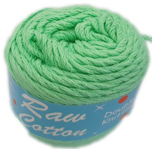 RAW COTTON D.K DYED 100g-COL.075 MINT 4