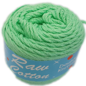RAW COTTON D.K DYED 100g-COL.075 MINT 6