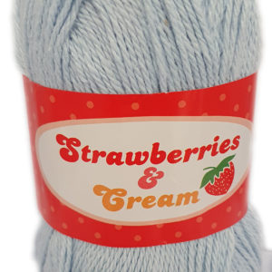 STRAWBERRIES & CREAM 100g-COL.11 LIGHT BLUE 5