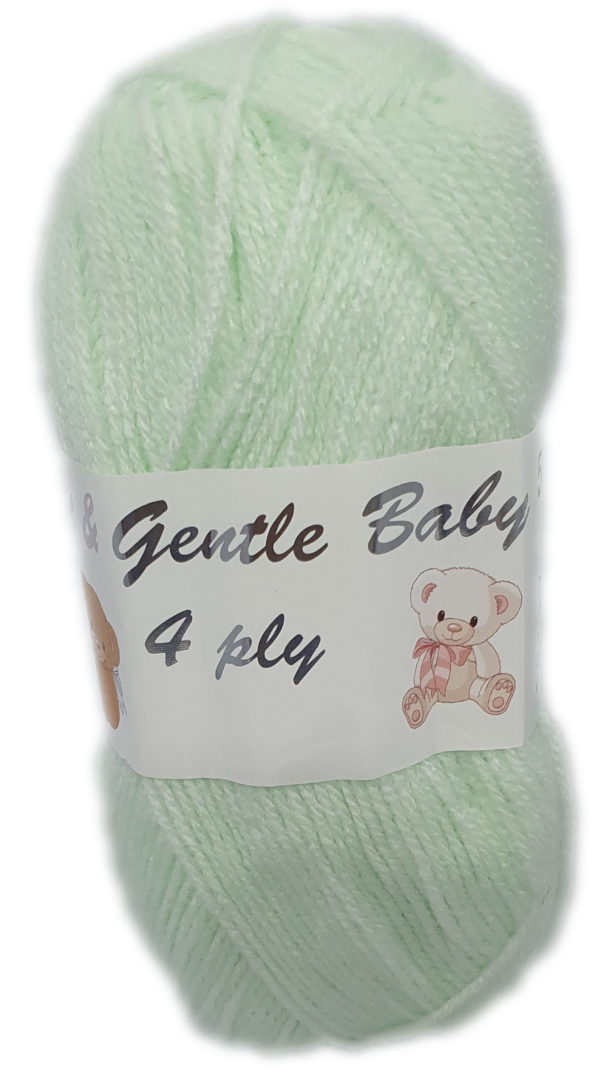 SOFT & GENTLE 4 PLY 50g-COL.BB1 PALE APPLE 1