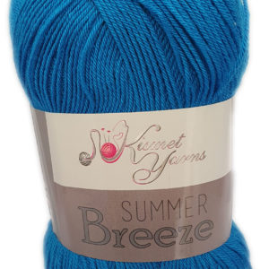 SUMMER BREEZE 100g-COL.700 PEACOCK BLUE 5