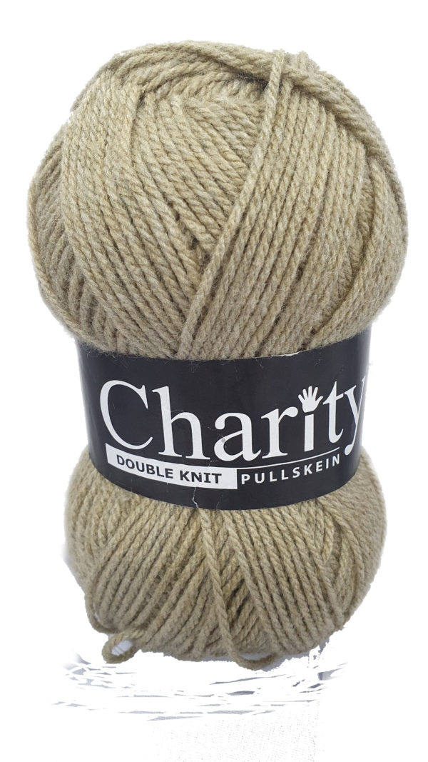 CHARITY PULLSKEIN DOUBLE KNIT-COL.048 STONE 1
