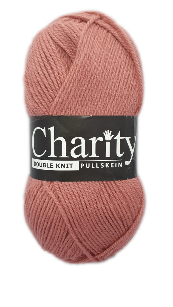 CHARITY PULLSKEIN DOUBLE KNIT-COL.079 TEABERRY 1